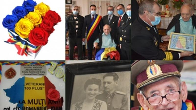 100 de ani de viata, 100 de povesti, 100 de ani de istorie... un singur OM:  Col (r)  Ioan Romaniuc