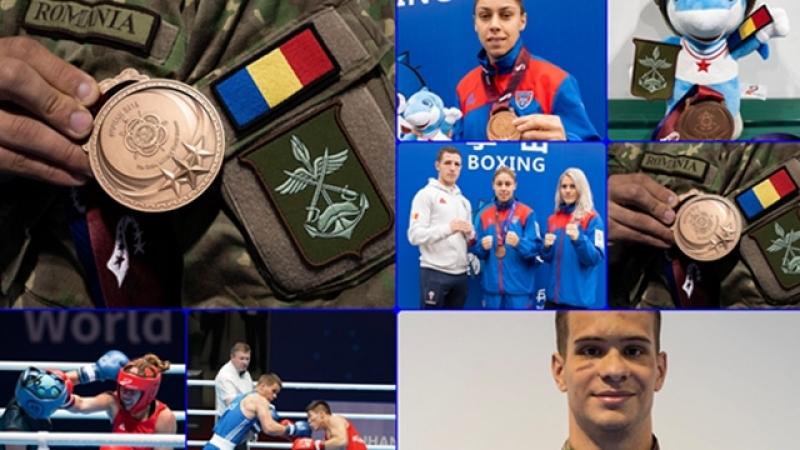 Sportivii romani au, deja, recolta bogata de medalii la Jocurile Mondiale Militare CISM din China