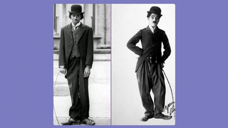 Michael, omagiu lui Chaplin
