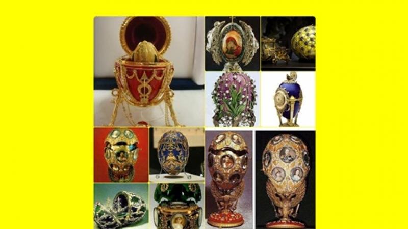 IMPRESIONEAZA GENERATII: Colectia imperiala a oualor de Pasti - Faberge