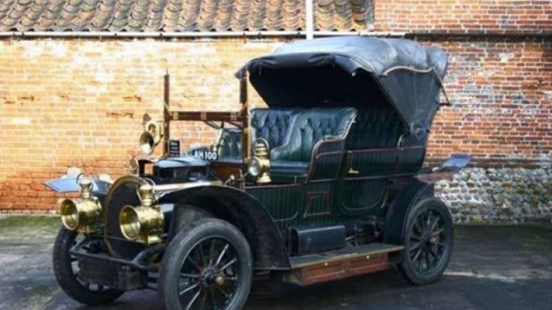 AR TREBUI SA STIM!!! Marta, primul automobil fabricat la Arad, in 1910