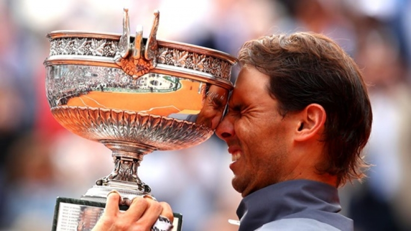RAFA NADAL: Al 20-lea titlu de Grand Slam, al 13-lea titlu si a 100 victorie la Roland Garros!