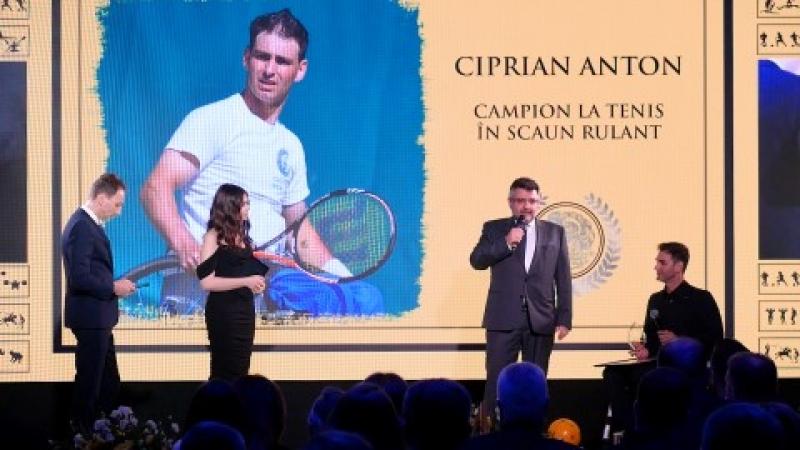 Interviu cu multiplul campion national la tenis de camp in scaun rulant, Ciprian Anton