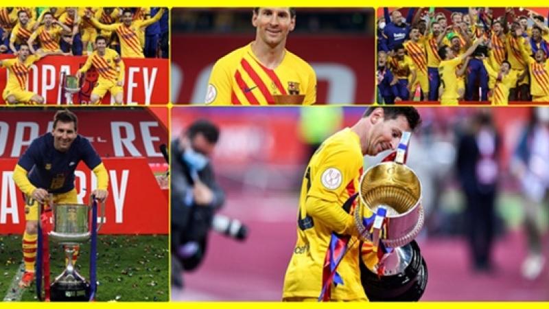 BARCA, castigatoarea Cupei Regelui. Si totusi exista iubire, si totusi Messi ne cucereste pe toti!