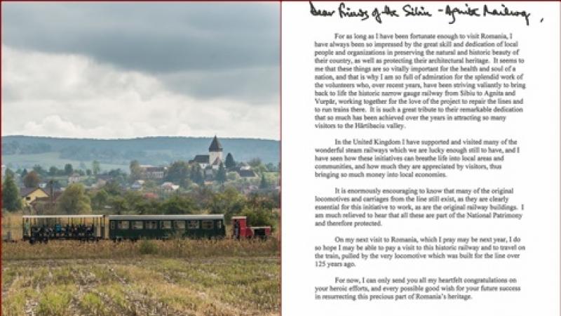 Mocanita legendara de pe Valea Hartibaciului, Sibiu l-a cucerit pe Printul Charles! Cui si de ce a trimis Alteta Sa o scrisoare?!