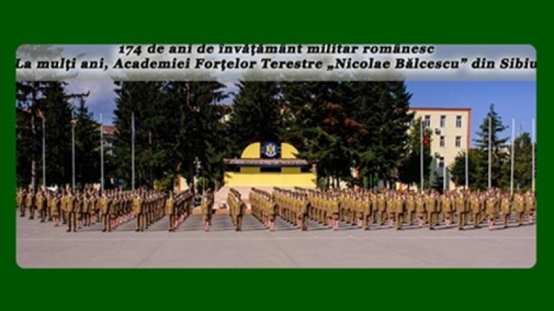 Academia Fortelor Terestre din Sibiu: 174 de ani in fruntea invatamantului militar romanesc