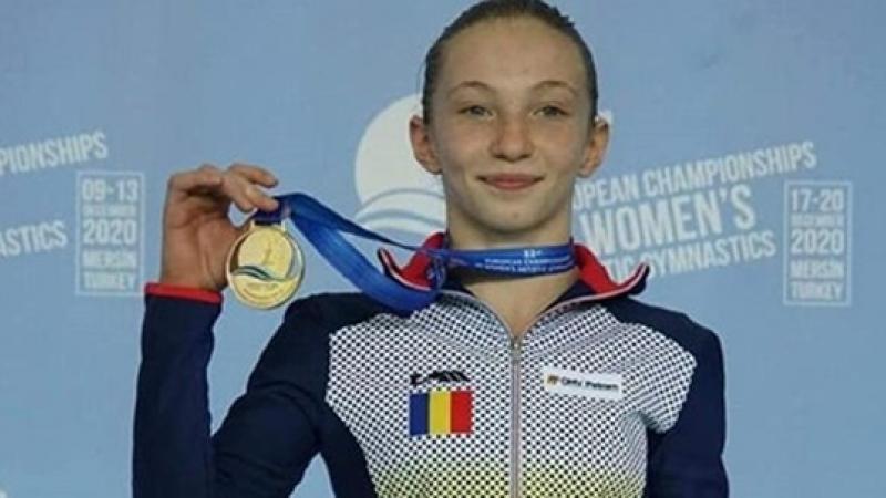 Ana Barbosu, o gimnasta de AUR la propriu! Tot aurul la finalele pe aparate i-a revenit ei!