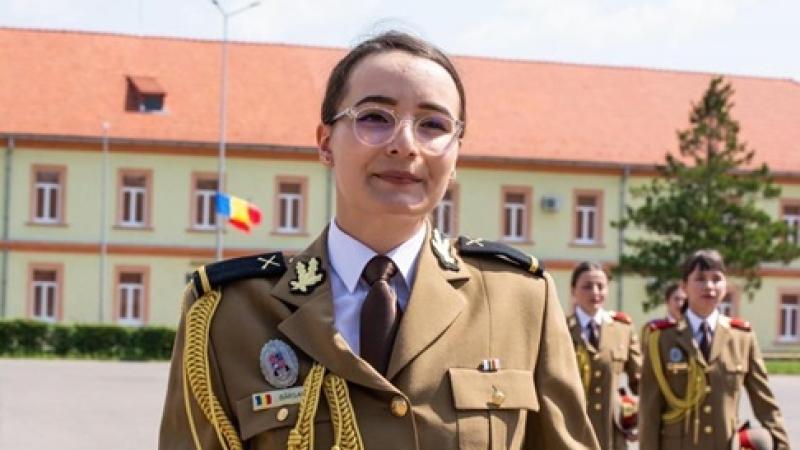 EA este, in 2020, Seful de Promotie pe Ministerul Apararii Nationale! A abosolvit Academia Fortelor Terestre din Sibiu