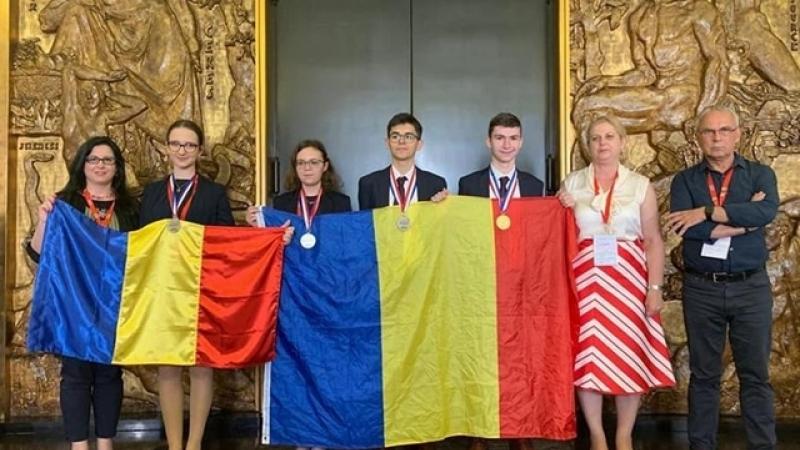AUR si ARGINT pentru elevii romani, la  Olimpiada Internațională de Chimie 2019