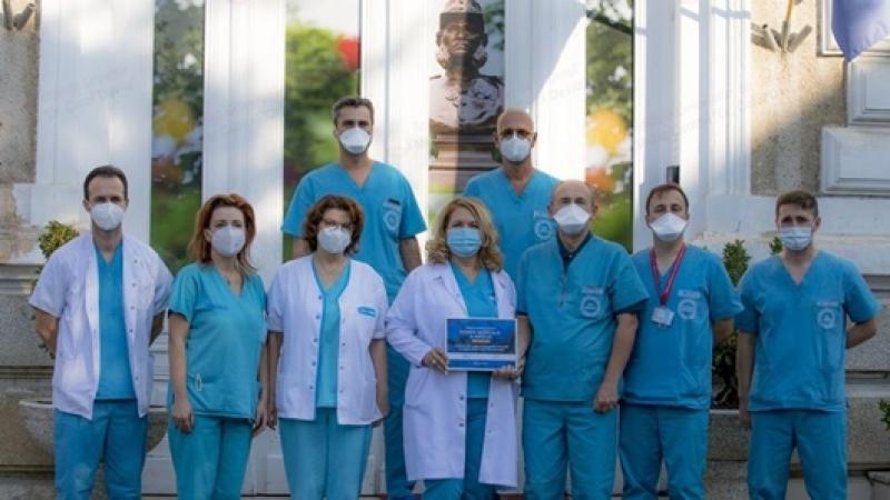 Echipa medicala a Centrului de Boli Cardiovasculare al Spitalului Militar Central – Premiul special al Romanian Healthcare Awards 2020