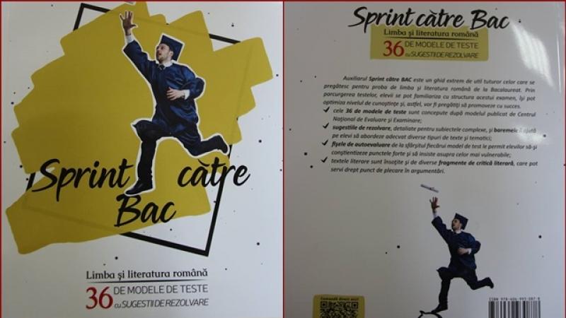 """""""Sprint către Bac"""" – pasiune şi dăruire! Inițiativa unor cadre didactice de NOTA 10 de la Colegiul Naţional Militar """"Dimitrie Cantemir"""""""