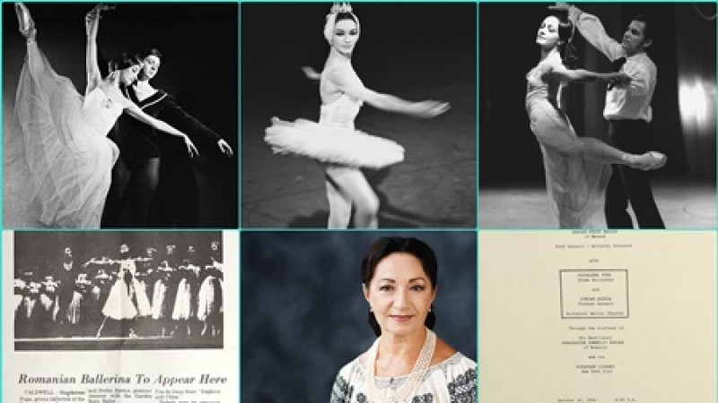 Magdalena Popa, ambasadoare a baletului romanesc, pe toate meridianele lumii