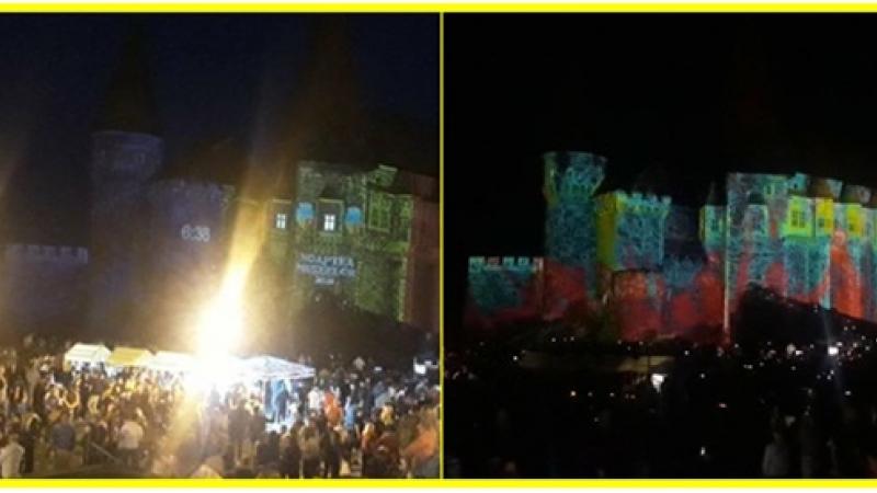 Fotografiile momentului: Noaptea Muzeelor la Castelul Corvinilor
