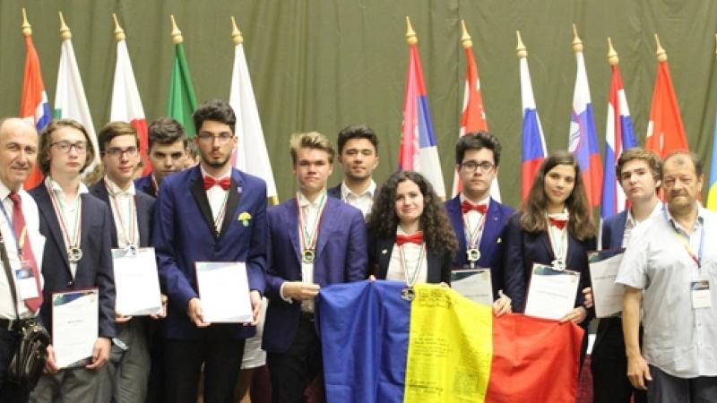 MINTI DE AUR: 10 premii pentru echipele Romaniei la Olimpiada Internationala de Astronomie si Astrofizica