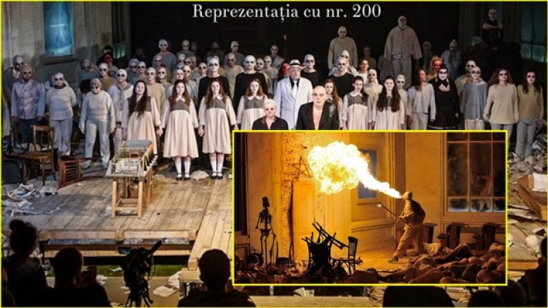 """""""FAUST"""" aniversează la Teatrul Naţional RADU STANCA din Sibiu un RECORD greu de egalat: 200 de reprezentaţii SOLD-OUT!"""