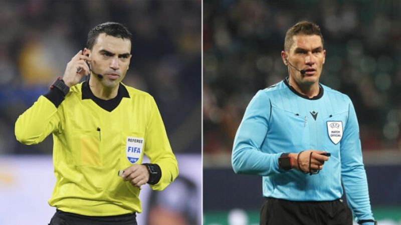 Reusita pentru Hategan si Kovacs si premiera pentru Romania: Doi arbitri la CE 2020!