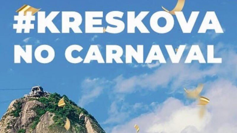 Kreskova Vodka este la Carnavalul de la Rio de Janeiro