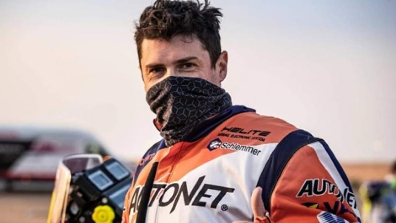 Romania cucereste Dakarul pe... doua roti! Emanuel Gyenes-Mani, locul II intr-o proba extrem de dificila