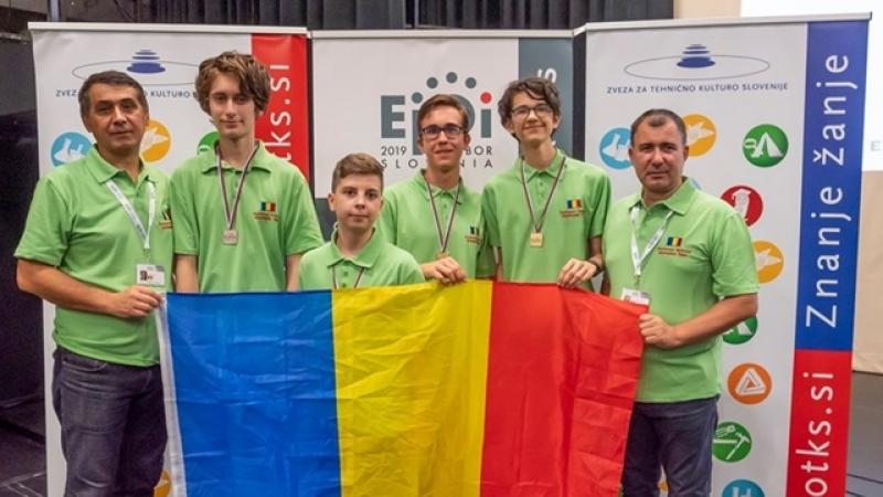 Palmares exceptional pentru elevii romani la Olimpiada Europeana de Informatica pentru Juniori (EJOI) 2019