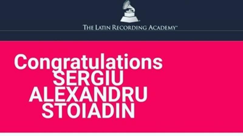 "WOW!!! Tanarul muzician roman Sergiu Stoiadin, ""parintele"" trupelor SYSTEM si Mandinga, nominalizat la Premiile GRAMMY  Latino de catre  Latin Recording Academy"