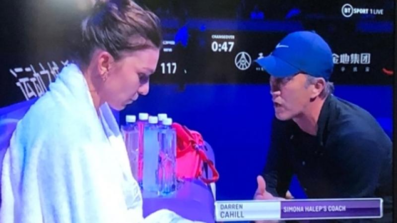 Shenzhen: Simona Halep, victorie impotriva Biancai Andreescu: 3-6, 7-6, 6-3