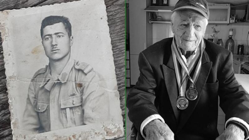 Povestea celui mai varstnic veteran de razboi din Ilfov iese azi la lumina...
