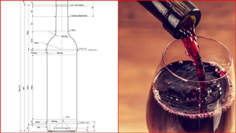 Stiti de ce sticlele de vin sunt de 750ml?