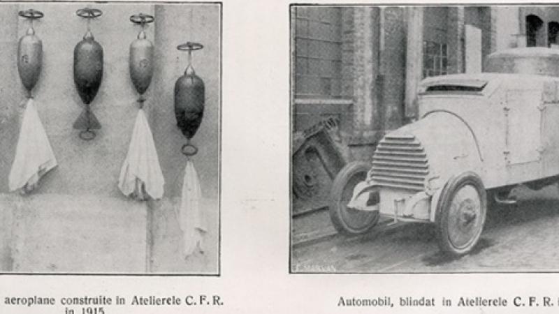 Bombe de aeroplane si… autoturisme blindate produse in Romania. FOTO-UNICAT