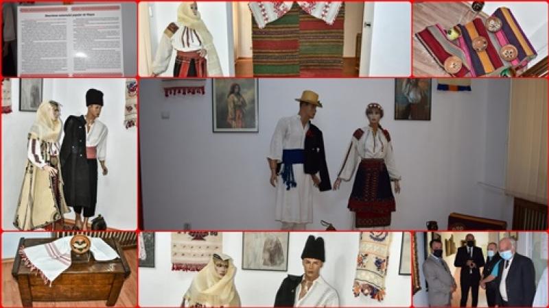 """Muzeul Judetean din Giurgiu: """"Costumul popular- izvor al frumusetii si vesmant sacru al natiunii"""". """"Imbratisarea"""" fiintei nationale..."""