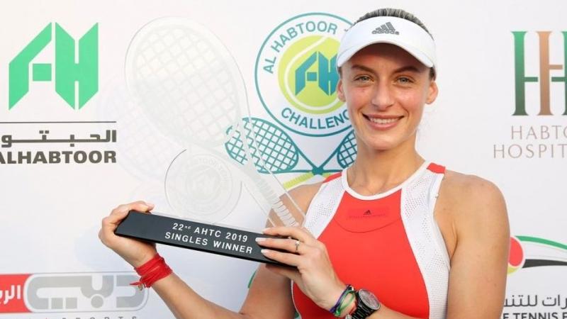 Ana Bogdan, cel mai bun rezultat al carierei: a castigat turneul de la Dubai