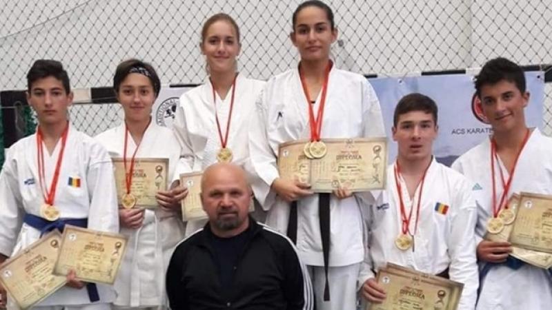 """BRAVO LOR! Aur, argint si bronz pentru elevii Colegiului National Militar """"Mihai Viteazul"""" Alba Iulia la Campionatul National de Karate"""