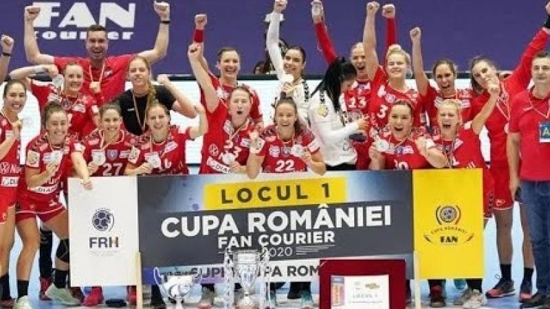 SCM Ramnicu Valcea, doua trofee dupa finala Cupei cu CSM Bucuresti!