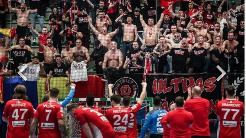 Au facut istorie: Dinamo Bucuresti, in optimile Champions League la handbal masculin