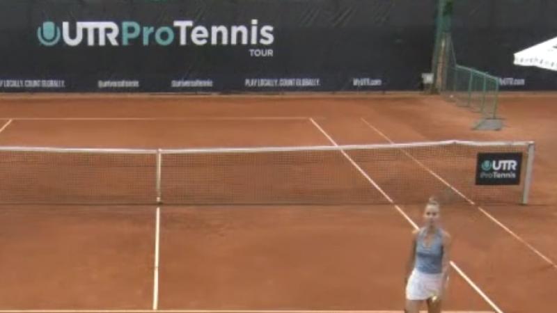 Romancele au monopolizat semifinalele la turneul de tenis UTR PTT; Andreea Rosca a cucerit trofeul