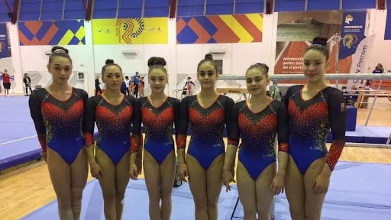 Romania, medalie de argint la CE de gimnastica de la Mersin (Turcia)