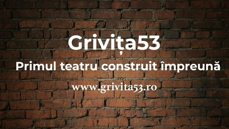 Ajuta la construirea primului teatru independent din Romania dupa 75 de ani!