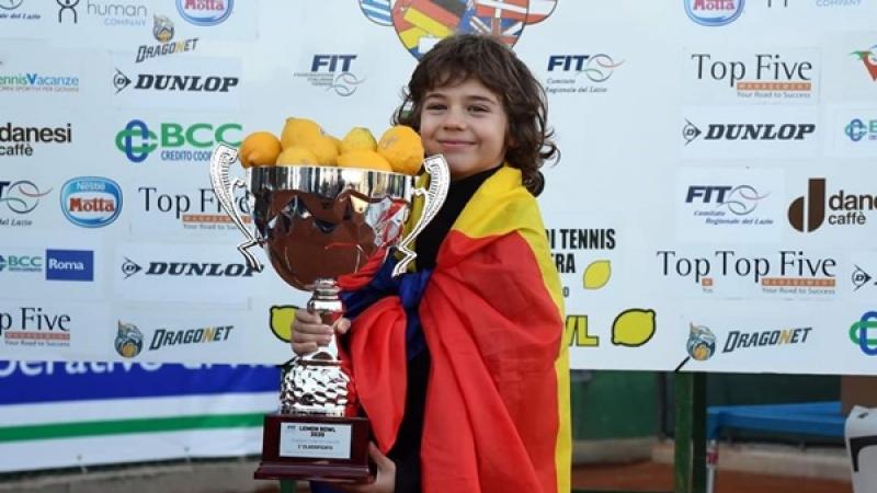 "Un copil din Bucuresti a castigat ""Lemon Bowl"" de la Roma!"