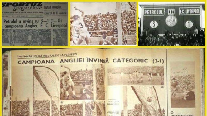 54 de ani de la victoria Petrolului Ploiesti cu marele FC Liverpool