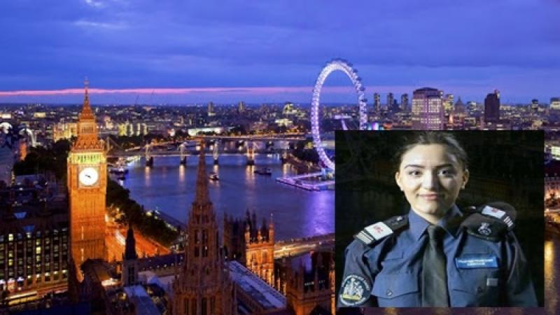 O radauteanca de numai 18 ani, sefa cadetilor din cadrul Politiei Londoneze