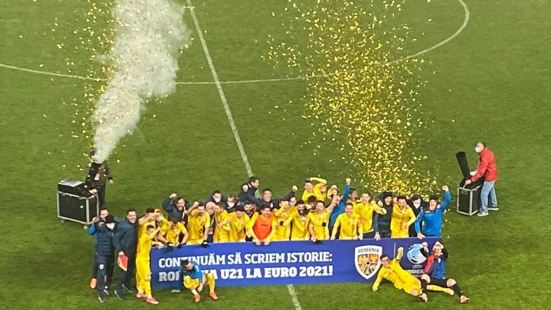 Romania U21, calificare la turneul final al Euro, pentru a doua oara consecutiv