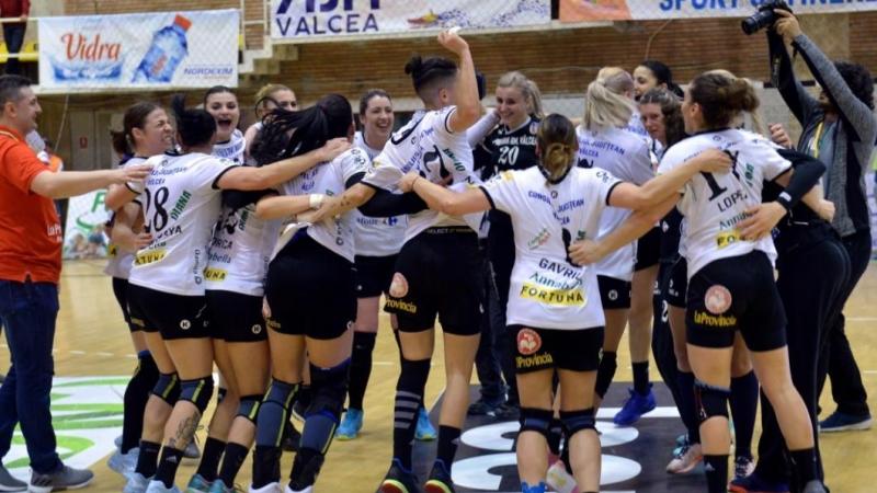 SCM Rm Valcea s-a calificat in sferturile Champions League la handbal  feminin!