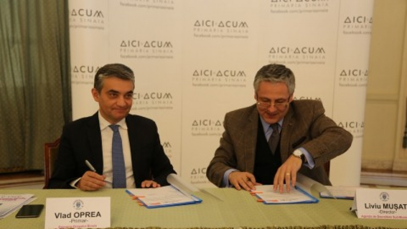 Sinaia, prima statiune smart din Romania