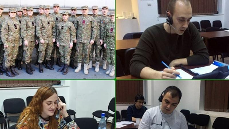 Voluntariat TELVERDE: Tineri militari LA DATORIE! Reusesc sa faca un bine!